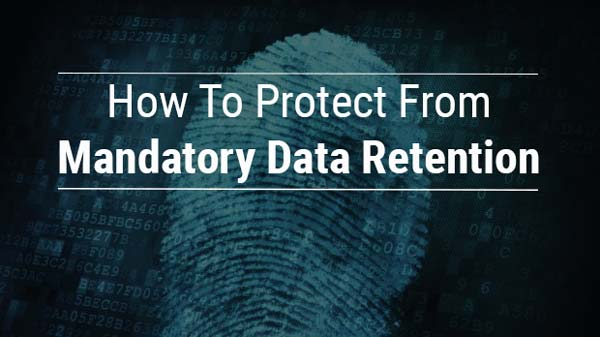 How to prevent mandatory data retention
