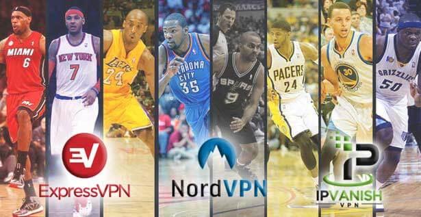 watch NBA using VPN Service