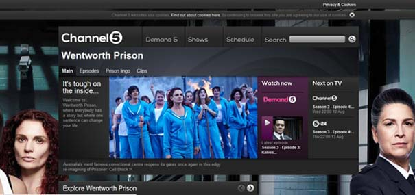 Wentworth Channel 5