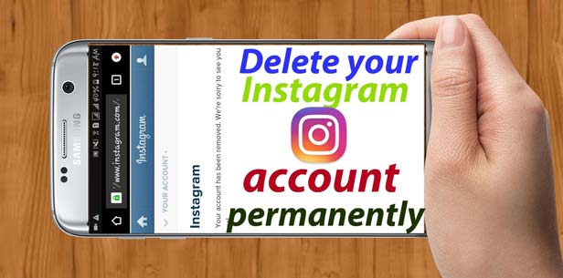 Delete your Instagram account permanently