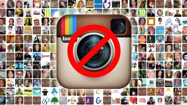 deactivate Instagram from app
