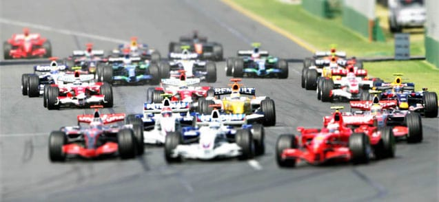 Watch Formula 1 Online in Australia