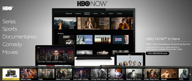 Setting up HBO Now