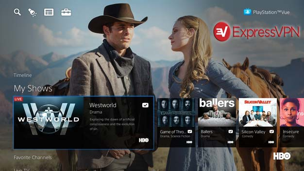 watch Westworld in Australia using VPN