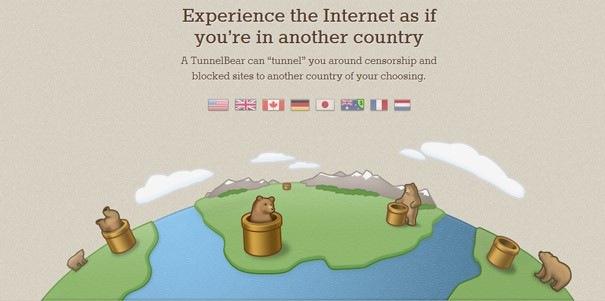 TunnelBear Servers