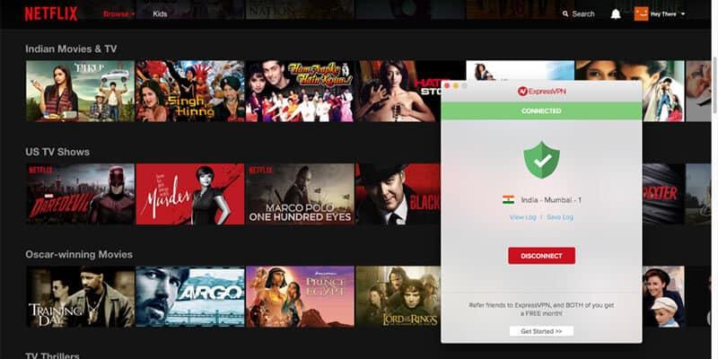 ExpressVPN to unlock Netflix