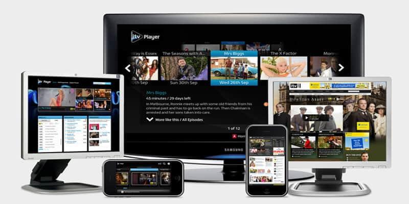 ITV hub player
