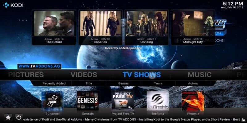 Kodi uses and functionality