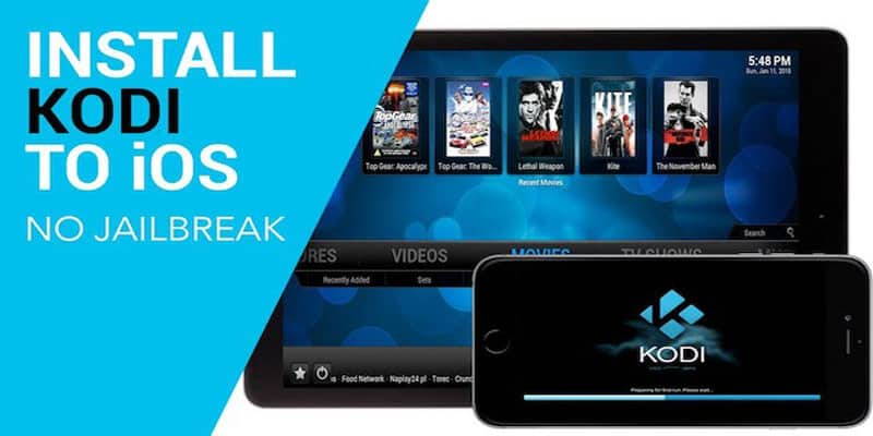 install Kodi for iOS