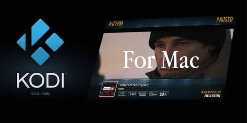 install Kodi on Mac