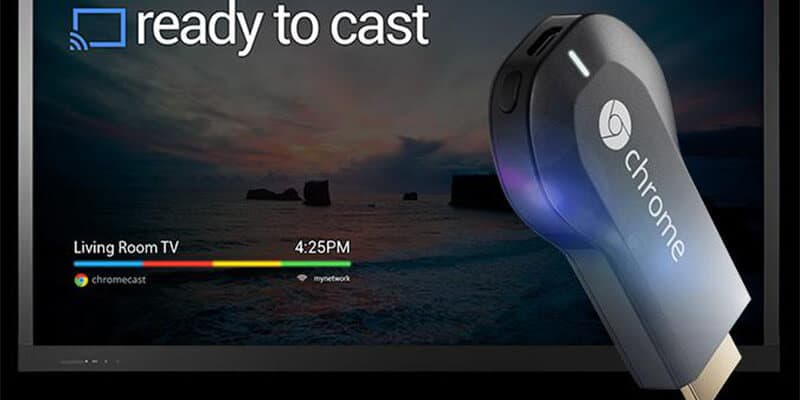 Chromecast is from Google