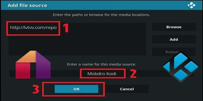 Install Mobdro on Kodi