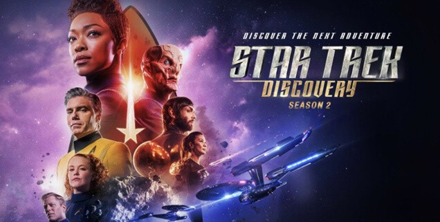 Star Trek Discovery all new series