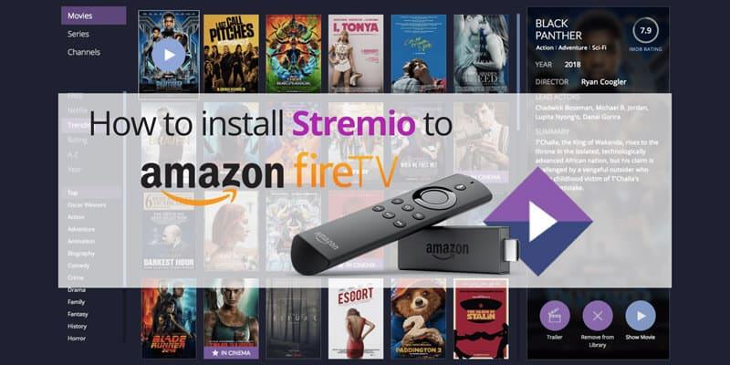 Stremio on FireSticke