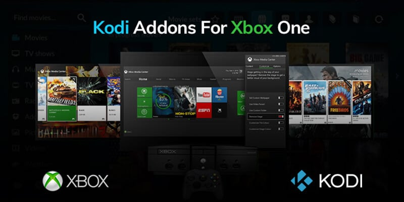 stream Kodi to Xbox One