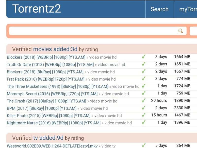 torrentz2 search engine 2018 unblocked