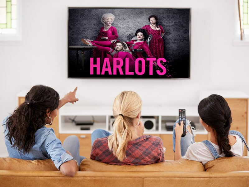 Best VPN to watch Harlots Online