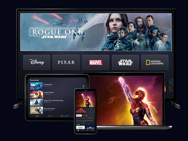 Disney Plus Streaming Services