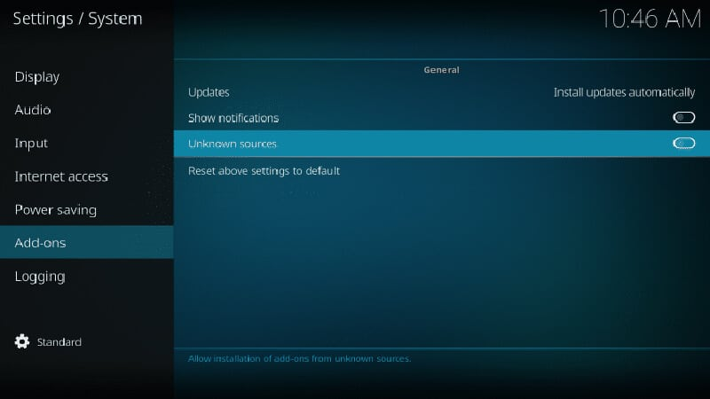 Installing No Limits Magic Build on Kodi Step by step