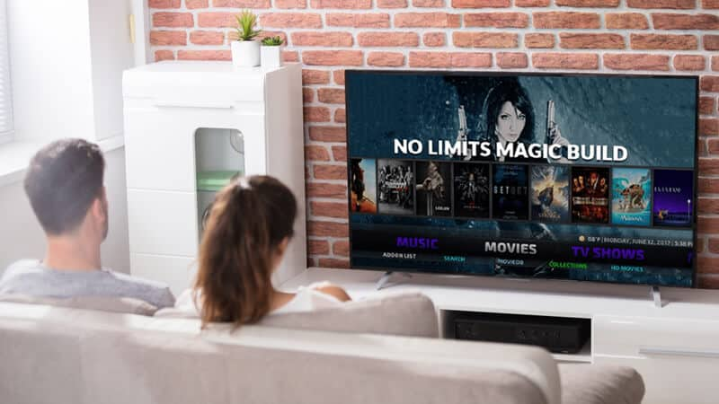 Streaming on No Limits Magic Kodi Build with a VPN