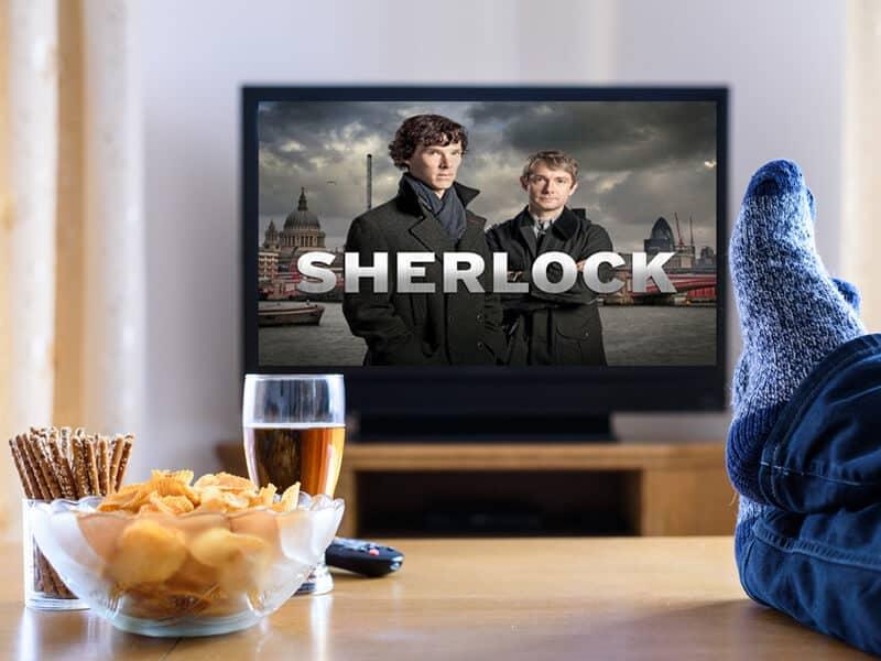 Watch Sherlock Holmes at Netflix