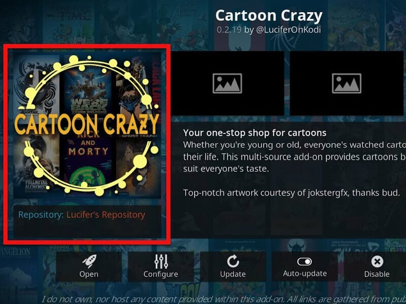 Guide in Installing Cartoon Crazy on Kodi