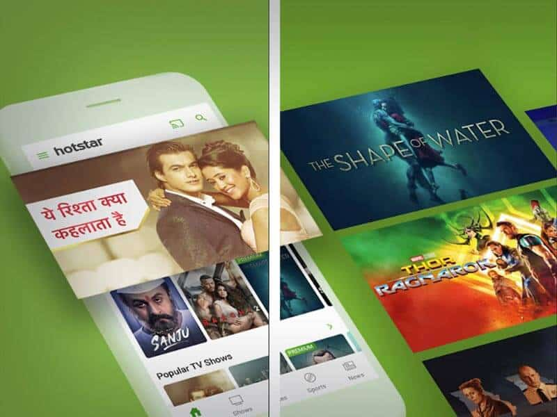 Hotstar best streaming site for indian movies