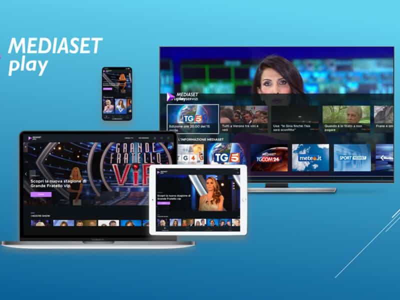 Best VPN to watch Mediaset Play