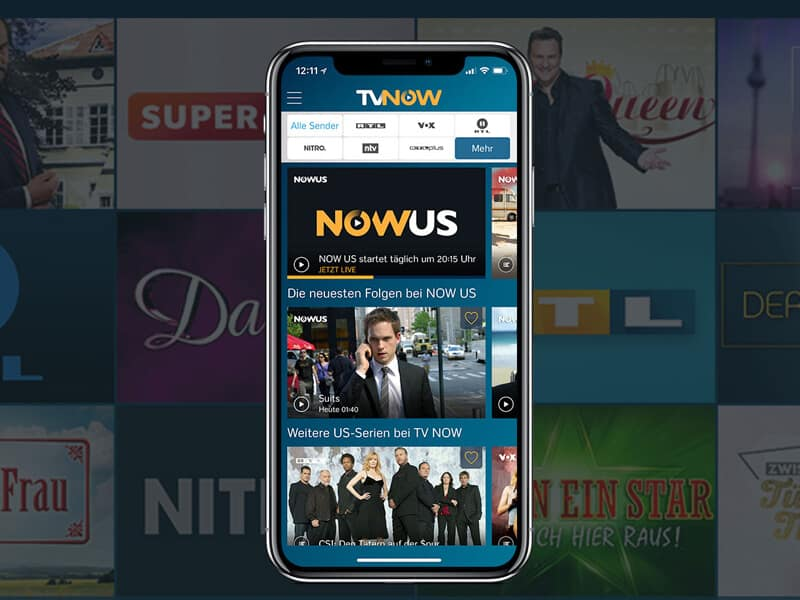 Bypass TVNow Restrictions using VPN