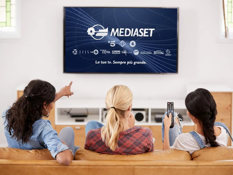 Mediaset live streaming