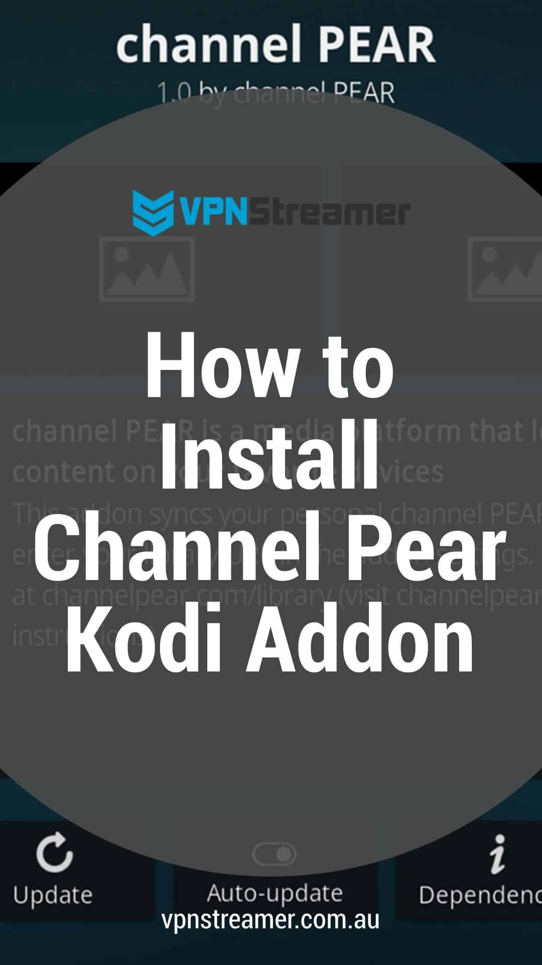 How to Install Channel Pear Kodi Addon