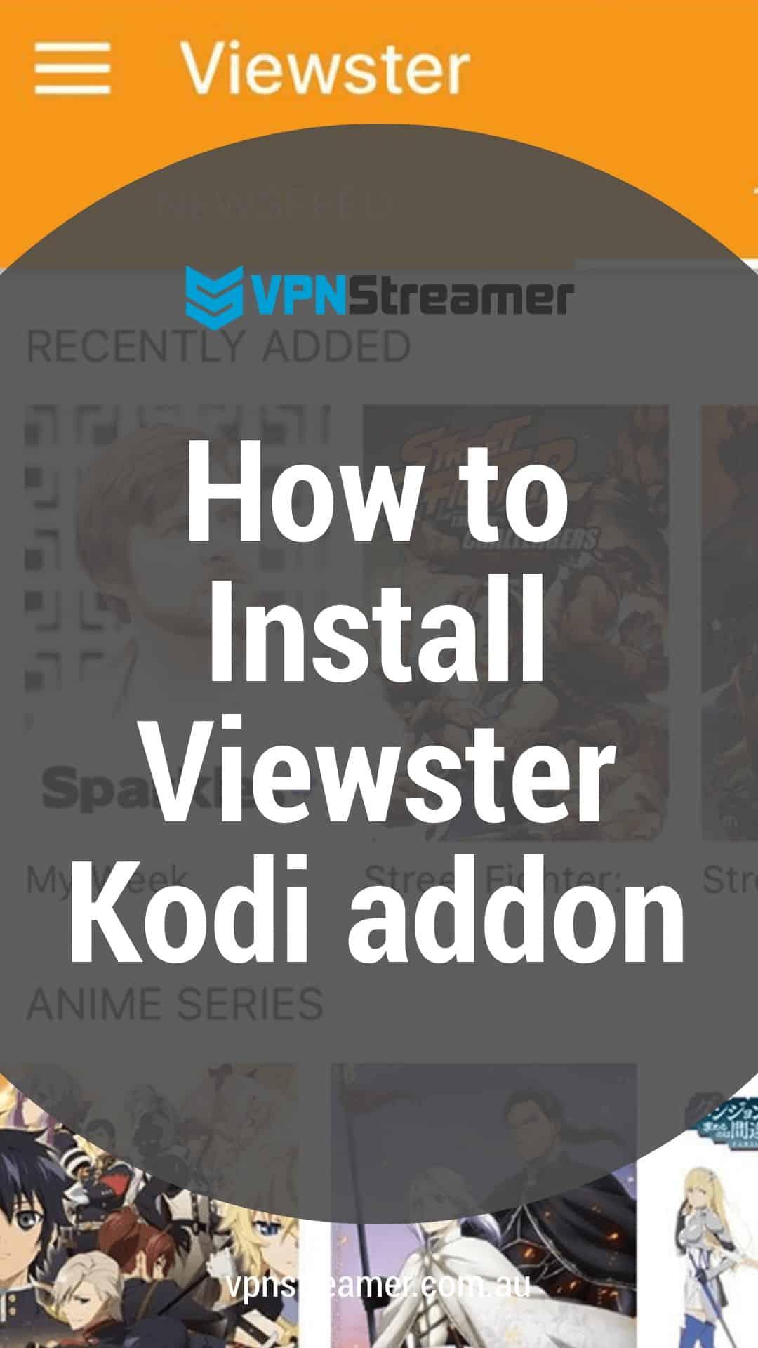 How to Install Viewster Kodi addon