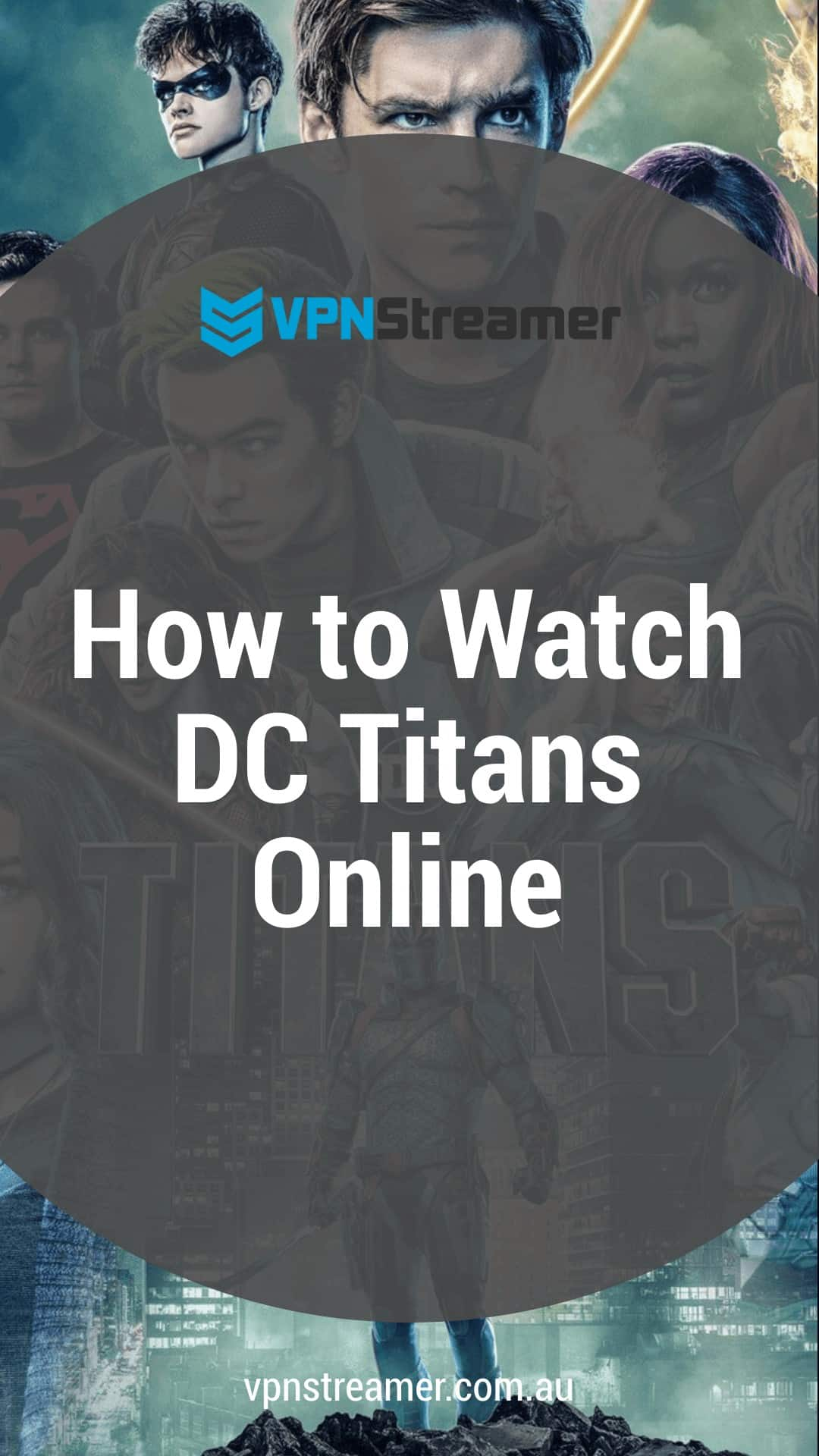 How to Watch DC Titans Online