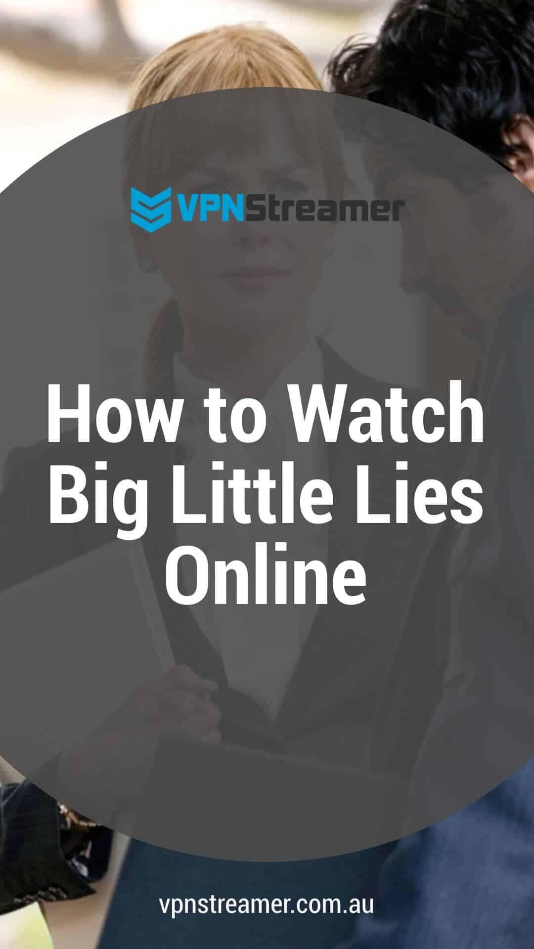How to Watch Big Little Lies Online