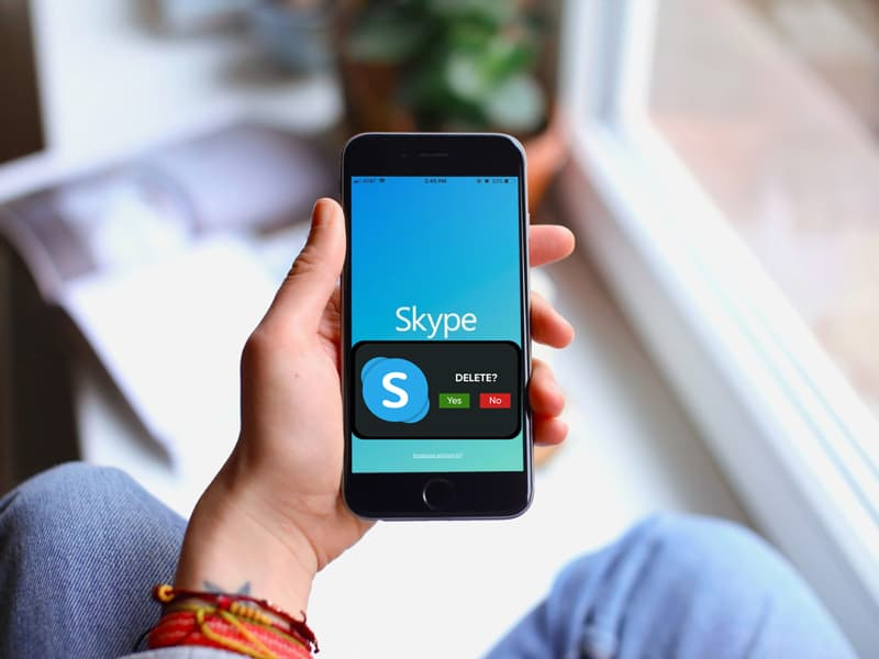 Deleting your Skype Account
