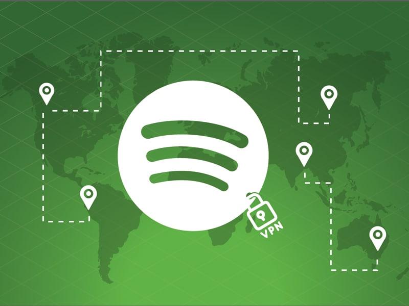 Change Spotify Country using VPN