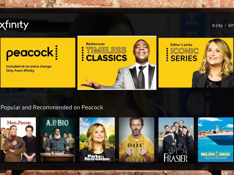 Peacock new premier video streaming service